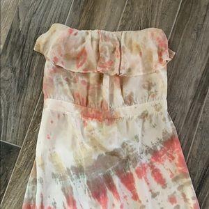 GYPSY O5 Silk Tie Dye maxi dress